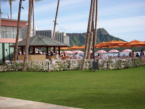 Mai Tai Bar, Royal Hawaiian Hotel